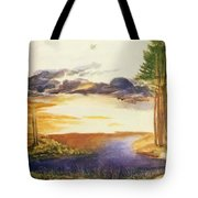 Pond In The Wood Tote Bag