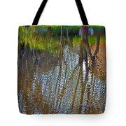 Pond Reflection Tote Bag