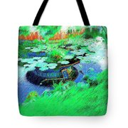Pond Reflection Tote Bag