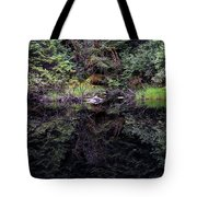 Pond Reflections -- Tongass National Forest Alaska Tote Bag