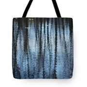 Pond Reflections Tote Bag