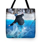 Pond Skimming Tote Bag
