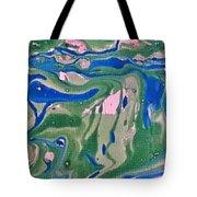 Pond Swirl 2 Tote Bag