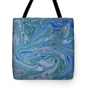 Pond Swirl 3 Tote Bag