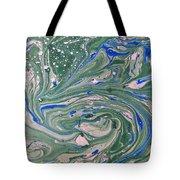 Pond Swirl 4 Tote Bag