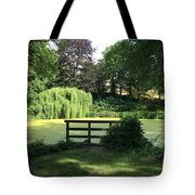 Pond With Water Ridge Tote Bag
