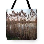 Pondside Tranquility Tote Bag