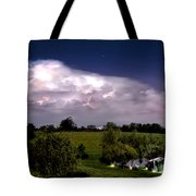 Pondsky At Night Tote Bag