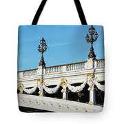 Pont Alexandre IIi - Paris, France Tote Bag