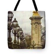Pont Alexandre IIi Paris Tote Bag