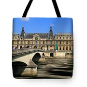 Pont Du Carrousel Tote Bag