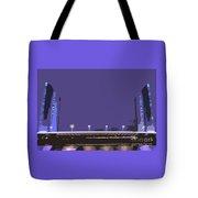 Pont Jacques Chaban-delmas Abstraction Tote Bag
