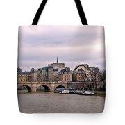 Pont Neuf In Paris Tote Bag