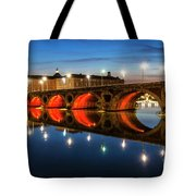 Pont Neuf In Toulouse Tote Bag