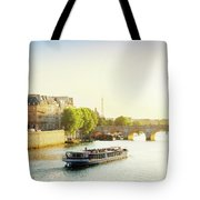 Pont Neuf In Sunset Light Tote Bag