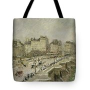 Pont Neuf Snow Effect Tote Bag