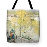 Pont Royal Paris Tote Bag by Childe Hassam