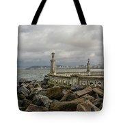 Ponta Da Praia Tote Bag