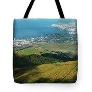 Ponta Delgada And Lagoa Tote Bag