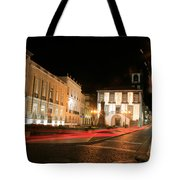 Ponta Delgada At Night Tote Bag
