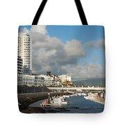 Ponta Delgada Waterfront Tote Bag