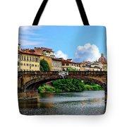 Ponte Santa Trinita Tote Bag