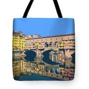 Ponte Vecchio Florence Tote Bag
