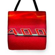 Pontiac Firebird 296 Tote Bag