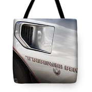 Pontiac Trans Am Limited Edition Tote Bag