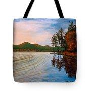 Pontoosuc Lake Pittsfield Ma Tote Bag