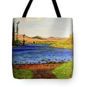 Pontoosuc Lake Pittsfield Massachusetts Tote Bag