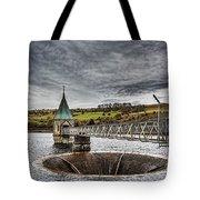Pontsticill Reservoir Valve Tower Tote Bag
