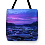 Pony Pasture Sunset Tote Bag by Jemmy Archer