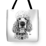 Poodle @standerdpoodle Tote Bag