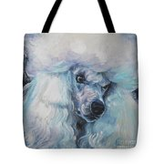 Poodle White Standard Tote Bag