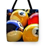 Pool Balls 2 Tote Bag