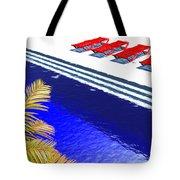 Pool Deck Tote Bag