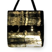 Pool Reflections Four Tote Bag