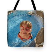 Pool Tester Tote Bag