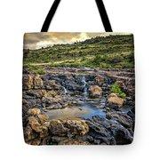 Pools And Waterfalls Tote Bag
