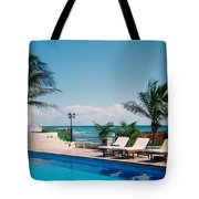 Poolside Tote Bag