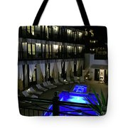 Poolside At The Pearl Tote Bag