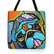 Pooped Pup Tote Bag