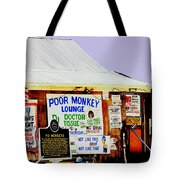 Poor Monkey's Juke Joint Tote Bag