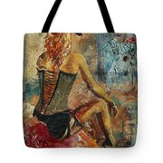Poor Pierrot  Tote Bag