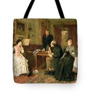 Poor Relations Tote Bag by George Goodwin Kilburne