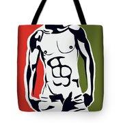 Pop Art Body  Tote Bag