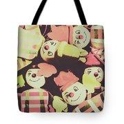 Pop Art Clown Circus Tote Bag