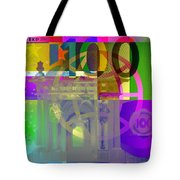 Pop-art Colorized One Hundred Euro Bill Tote Bag