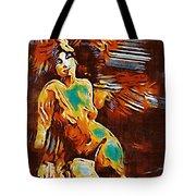 Pop Art Female Study 1d Tote Bag